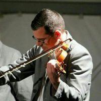 Foto artística violín